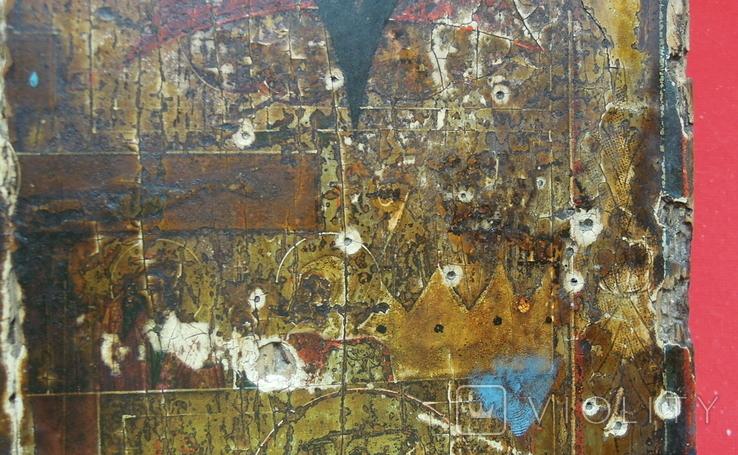 Староверческая Ветковская Икона четырехчастник с Распятием Господним, фото №7
