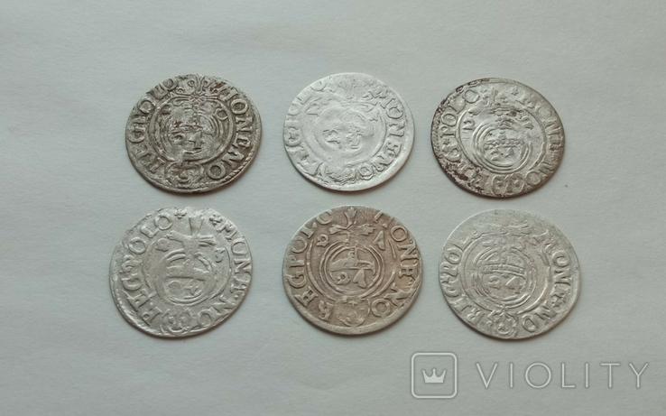 Півторак Сігізмунда III Вази 1620-1625рр. 6шт., фото №5