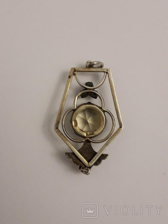 Срібний кулон СРСР, фото №4