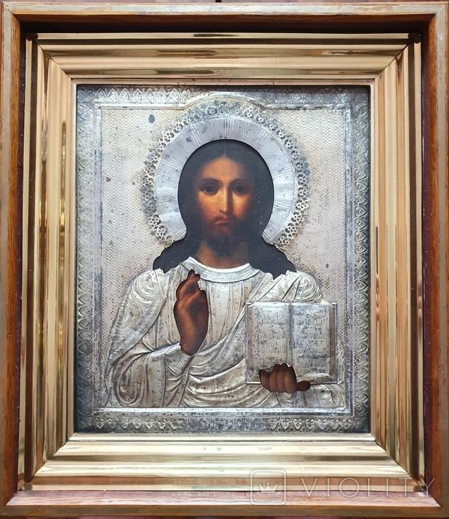 Икона Иисус Христос. Аналой., фото №2