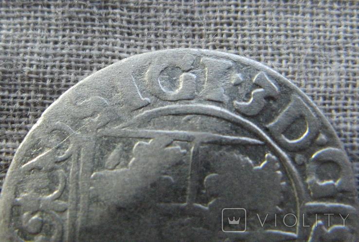Полторак ( 1/24 талера ) 1621 года. Сиг. ІІІ Ваза. SIGI., фото №2