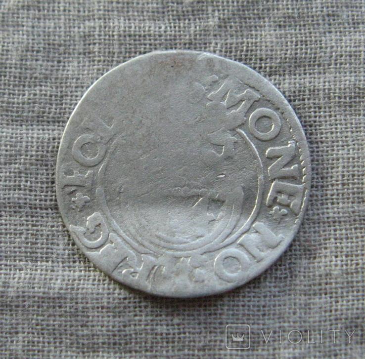 Полторак ( 1/24 талера ) 1621 года. Сиг. ІІІ Ваза. SIGI., фото №3