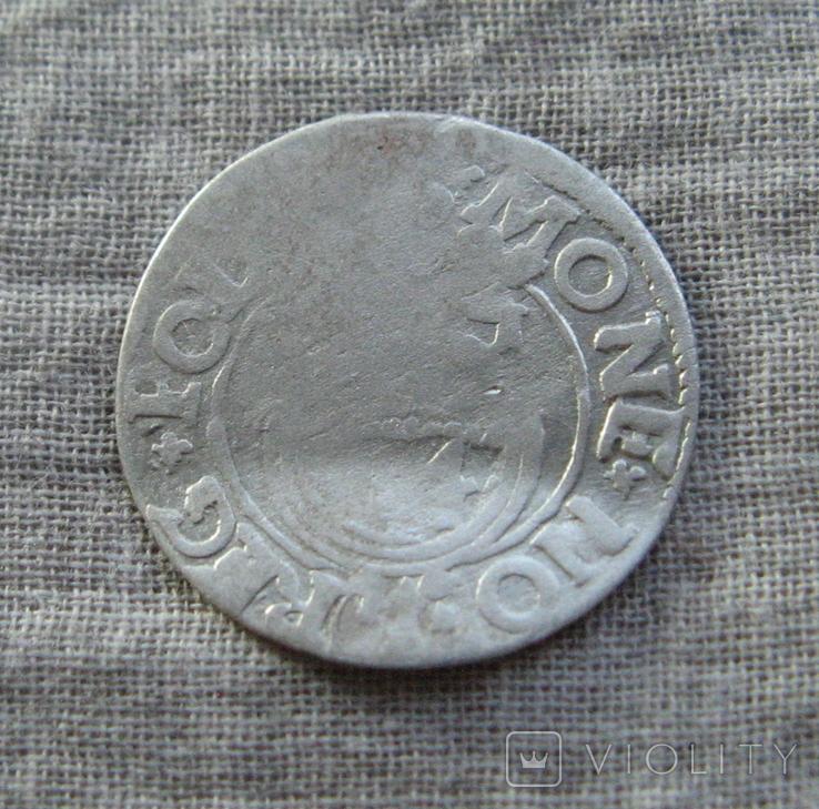 Полторак ( 1/24 талера ) 1621 года. Сиг. ІІІ Ваза. SIGI., фото №6