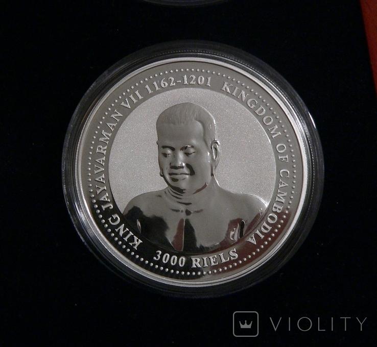Набор из 4 монет - Год Собаки - серебро 999 - ПОЛНЫЙ КОМПЛЕКТ, фото №4