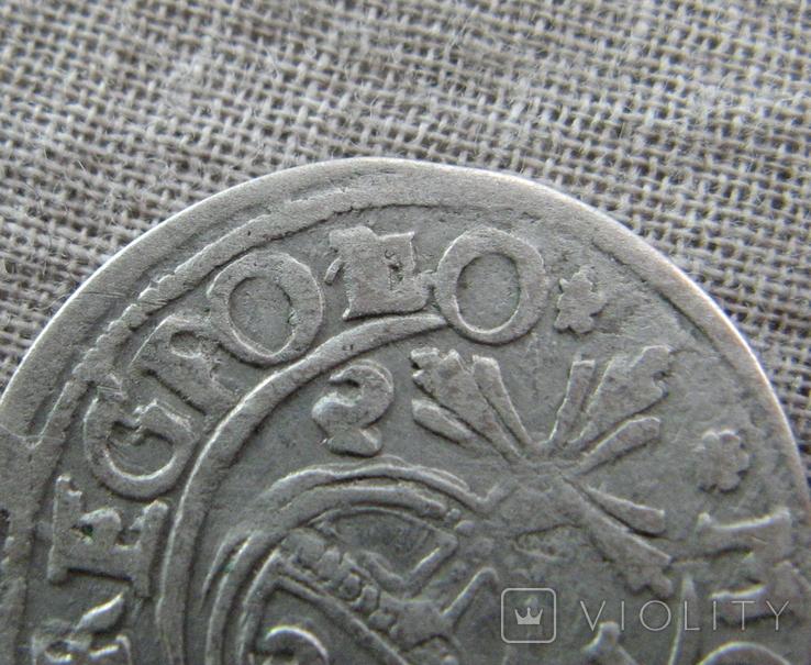Полторак ( 1/24 талера ) 1623 года. Сиг. ІІІ Ваза. POL(L)O., фото №2