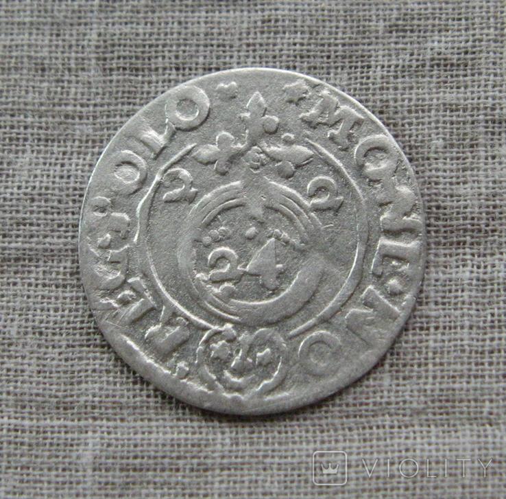 Полторак ( 1/24 талера ) 1622 года. Сиг. ІІІ Ваза. MO - NE.NO., фото №3