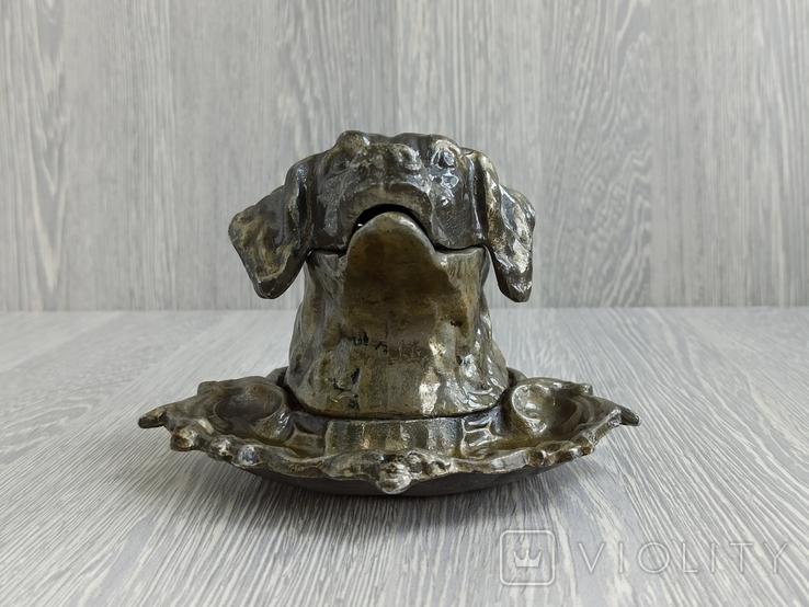 Пепельница СССР. Собака, фото №4