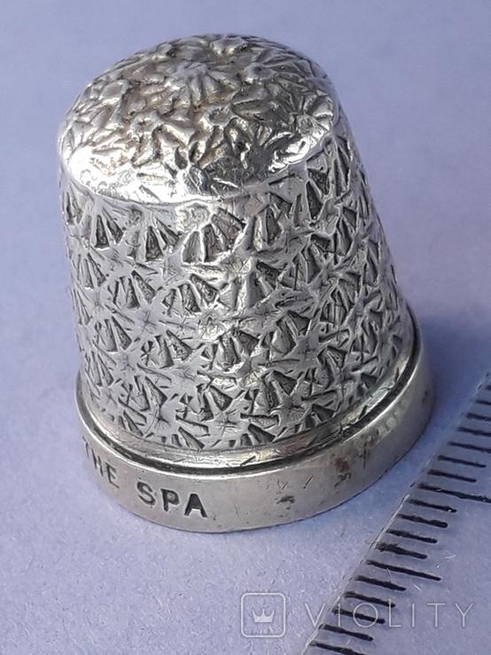 Напёрсток, наперсток, серебро, 3.1 грамма, Великобритания, 1928 год, фото №9