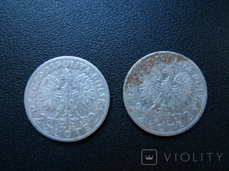 2 злотых 1932  6 штук, фото №6