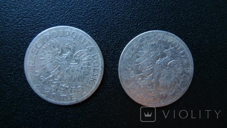2 злотых 1933  8 штук, фото №4