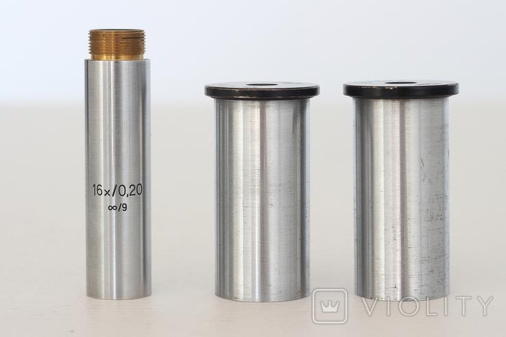 Окуляры и объектив к микроскопу Carl Zeiss Jena, фото №3