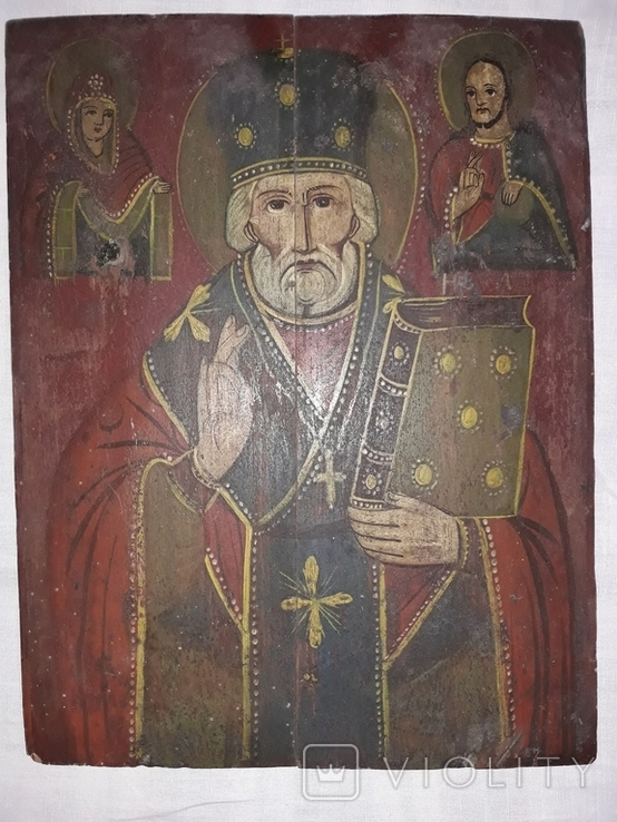 Св. Миколай Чудотворець (кінець 19 ст. - поч. 20 ст.), фото №3