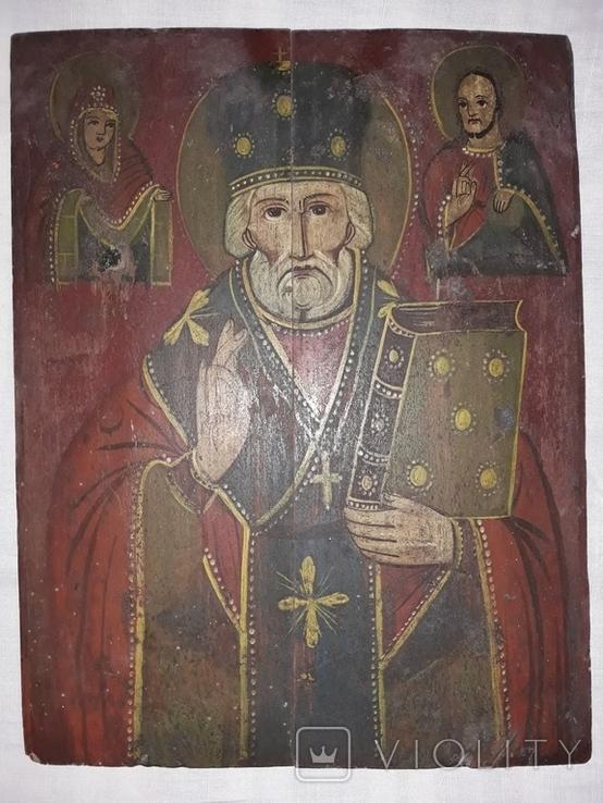 Св. Миколай Чудотворець (кінець 19 ст. - поч. 20 ст.), фото №4