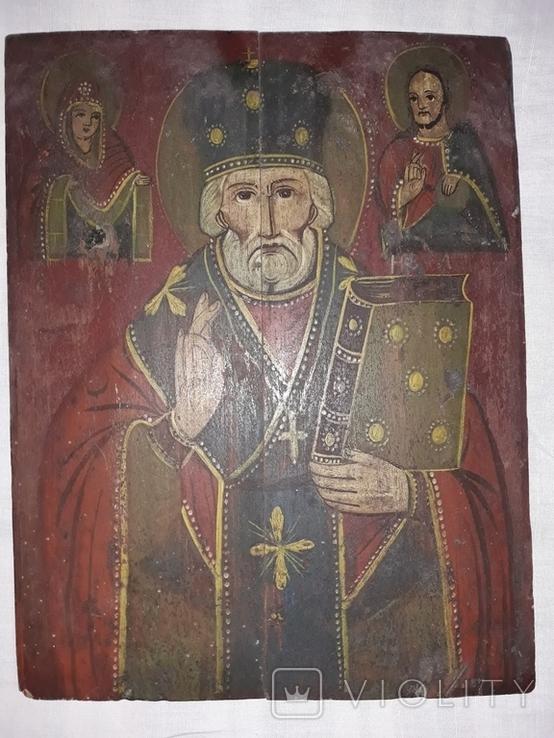 Св. Миколай Чудотворець (кінець 19 ст. - поч. 20 ст.), фото №5