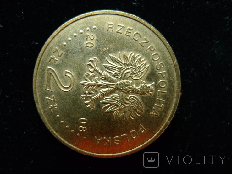 """2 злотых 2008 """"90 лет Великопольского восстания"""", фото №6"""