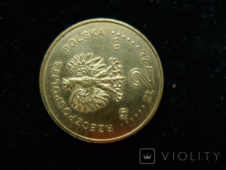 """2 злотых 2008 """"90 лет Великопольского восстания"""", фото №7"""