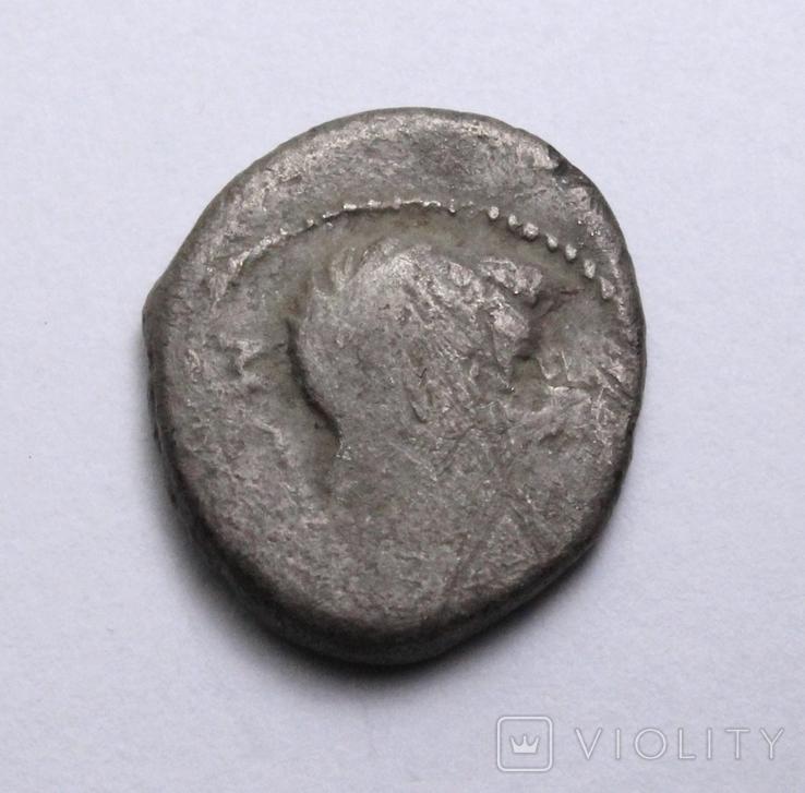 Марк Порцій Катон, 89р. до н.е. срібний квінарій, м.Рим., фото №5