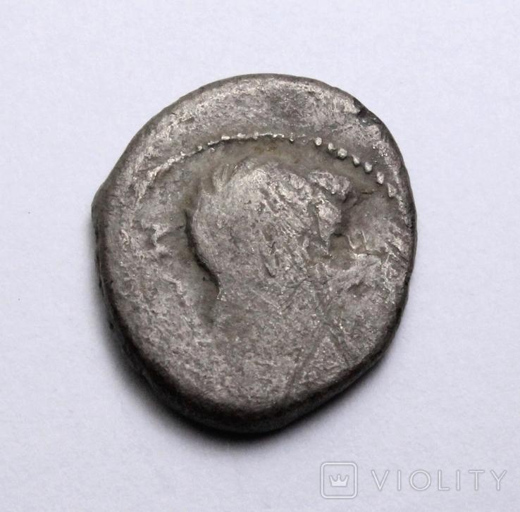 Марк Порцій Катон, 89р. до н.е. срібний квінарій, м.Рим., фото №6