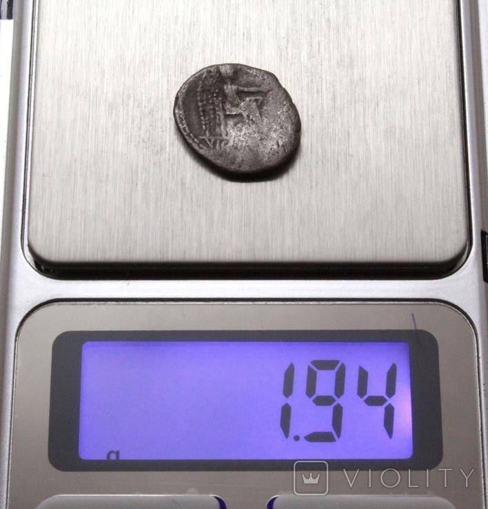 Марк Порцій Катон, 89р. до н.е. срібний квінарій, м.Рим., фото №12
