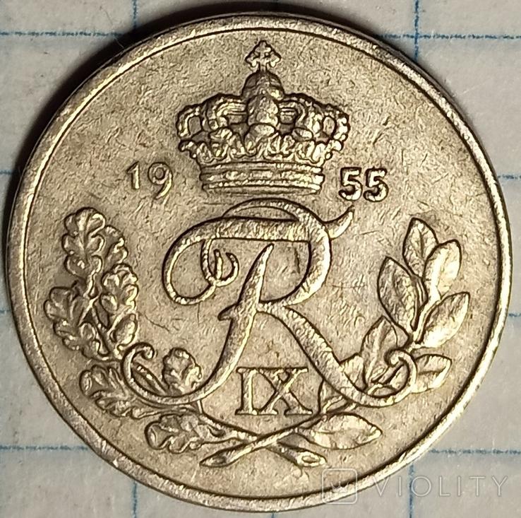 Дания 10 эри 1955, фото №3