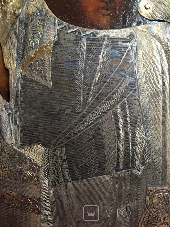 Икона Казанской Богородицы. Серебро, фото №4