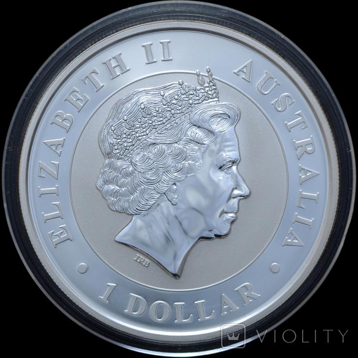 1 Доллар 2015 Коала 1oz, Австралия Унция, фото №3