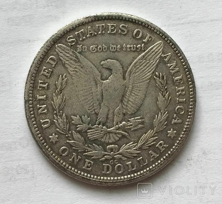 1 доллар 1886 года. Копия., фото №3