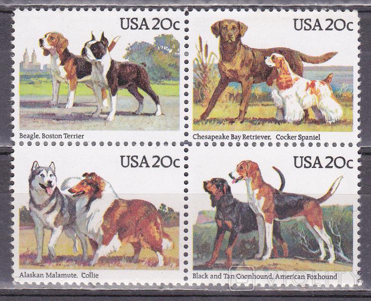 США собаки MNH