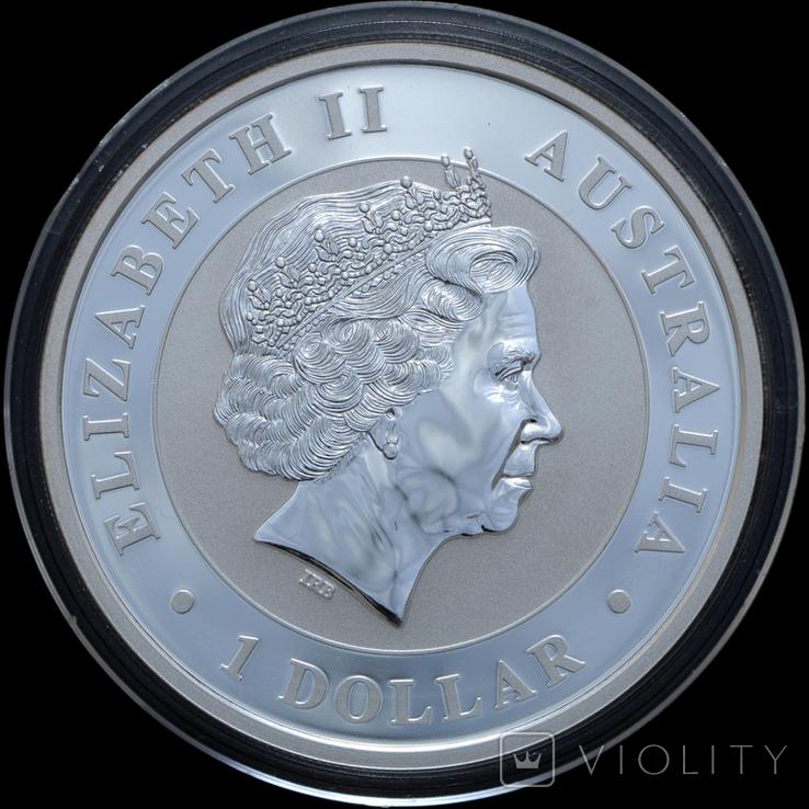 1 Доллар 2014 Коала 1oz, Австралия Унция, фото №3