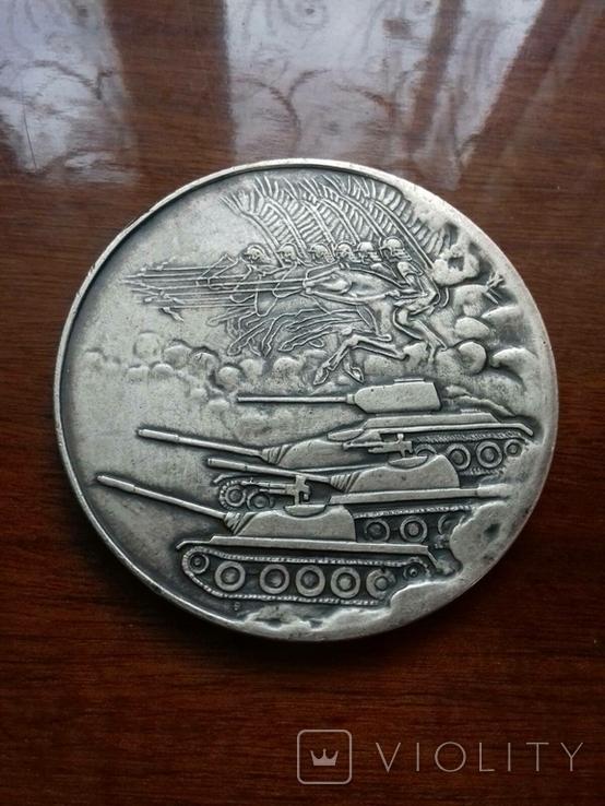 Настільна медаль SLASKI OKREG WOJSKOWY, фото №4