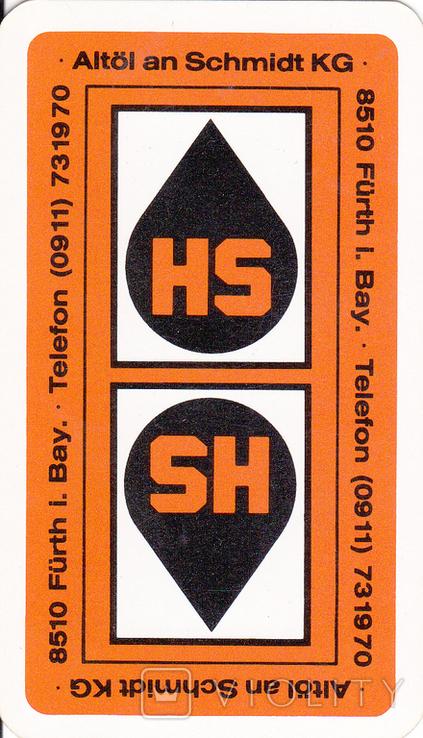 6.Карты игральные 1990-х (2-ая картинка,сокращ.колода 32 листа) ASS,Германия, фото №2
