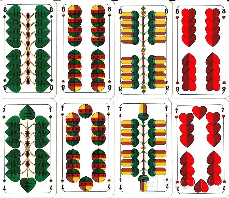 6.Карты игральные 1990-х (2-ая картинка,сокращ.колода 32 листа) ASS,Германия, фото №8