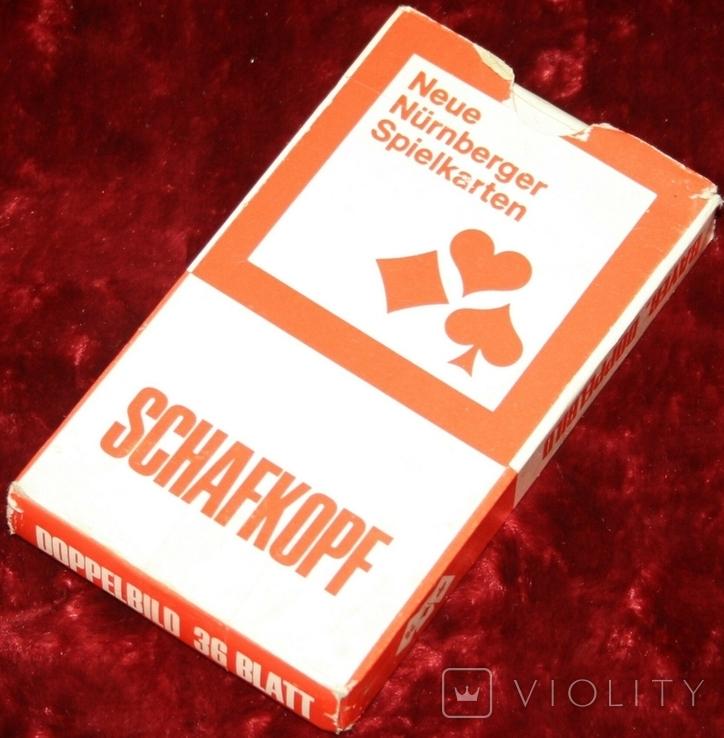6.Карты игральные 1990-х (2-ая картинка,сокращ.колода 32 листа) ASS,Германия, фото №9