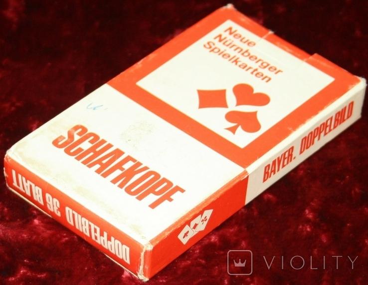 6.Карты игральные 1990-х (2-ая картинка,сокращ.колода 32 листа) ASS,Германия, фото №11