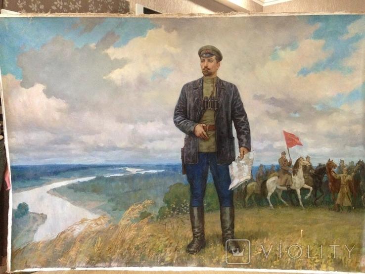 Командир Украинского революционного полка имени товарища Богуна тов. Николай Щорс, фото №2