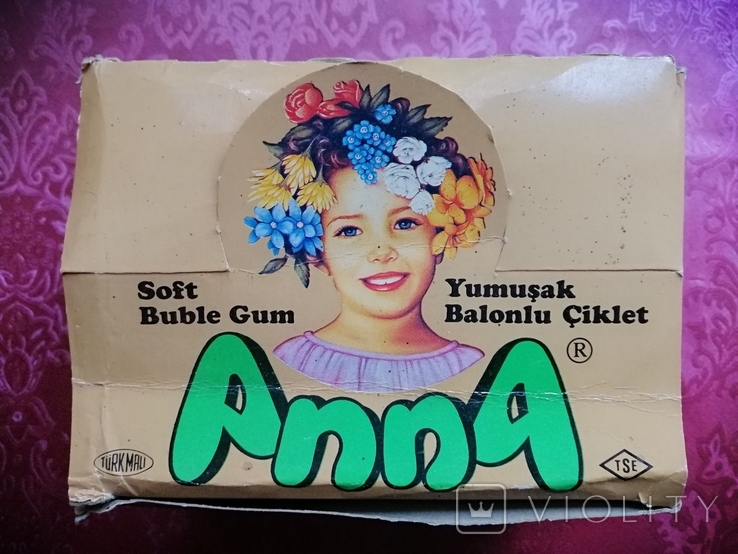 "Бокс с под жвачек: ""AnnA"" 90-е года, фото №2"