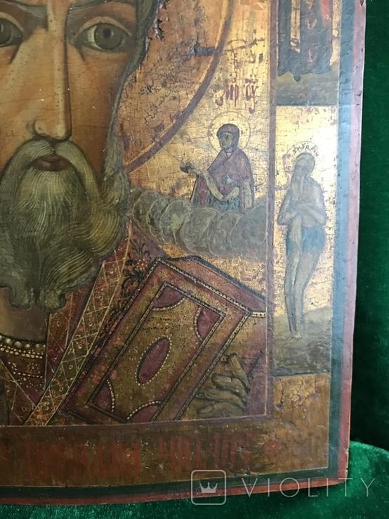 Икона Святой Николай ХIХ век., фото №7