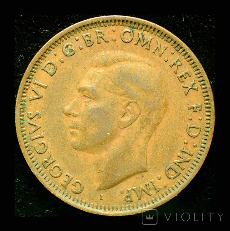 Австралия 1 пенни 1942, фото №3