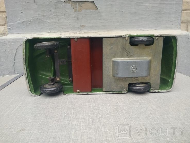 Автомобиль Газ -12 Зим , кабриолет,инерционный двигатель , маркировка ТТ., фото №4