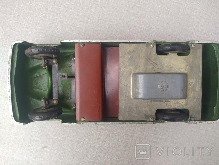 Автомобиль Газ -12 Зим , кабриолет,инерционный двигатель , маркировка ТТ., фото №9