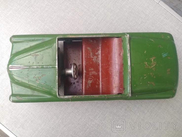 Автомобиль Газ -12 Зим , кабриолет,инерционный двигатель , маркировка ТТ., фото №12