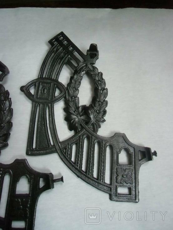 Боковины до потолочных керосиновых ламп№17, фото №3