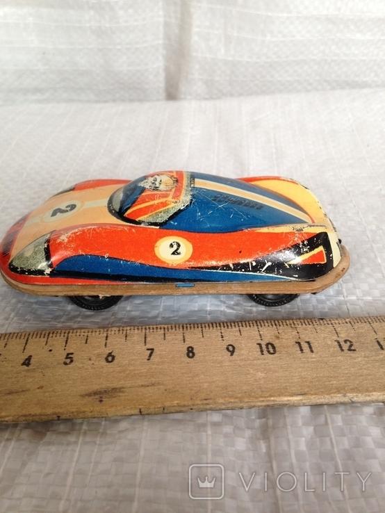 Машинка гоночная Киев СССР, фото №2
