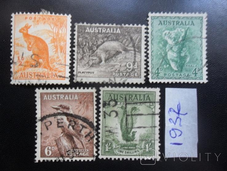 Фауна. Австралия. 1937 г. гаш