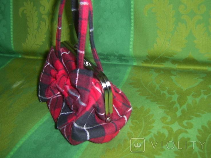 Миниатюрная сумочка, фото №4