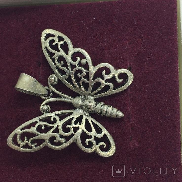 Кулон бабочка, фото №2