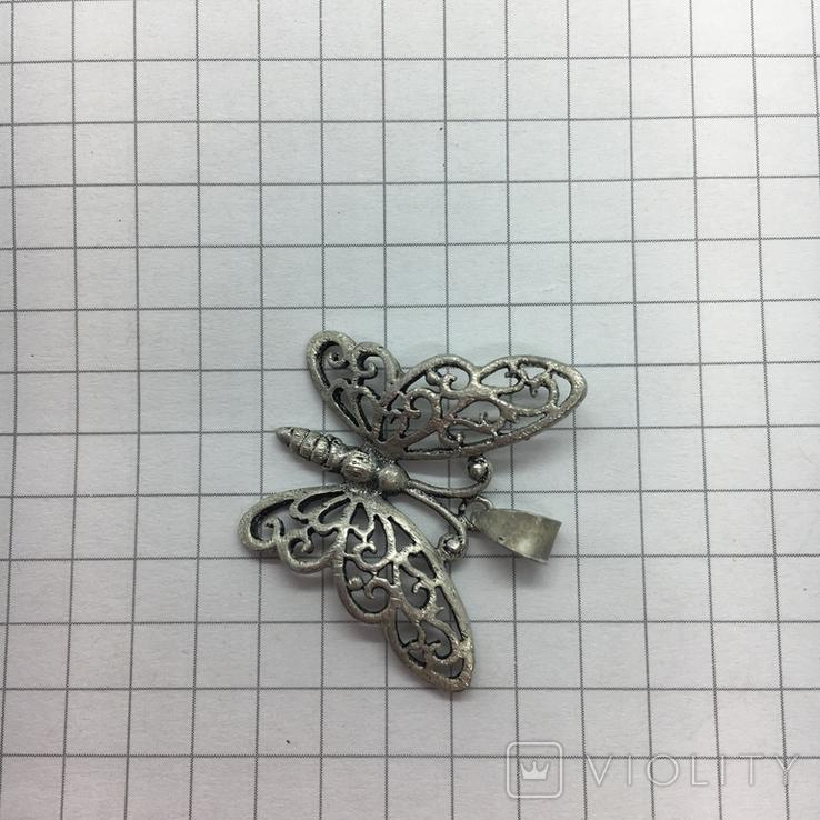 Кулон бабочка, фото №3