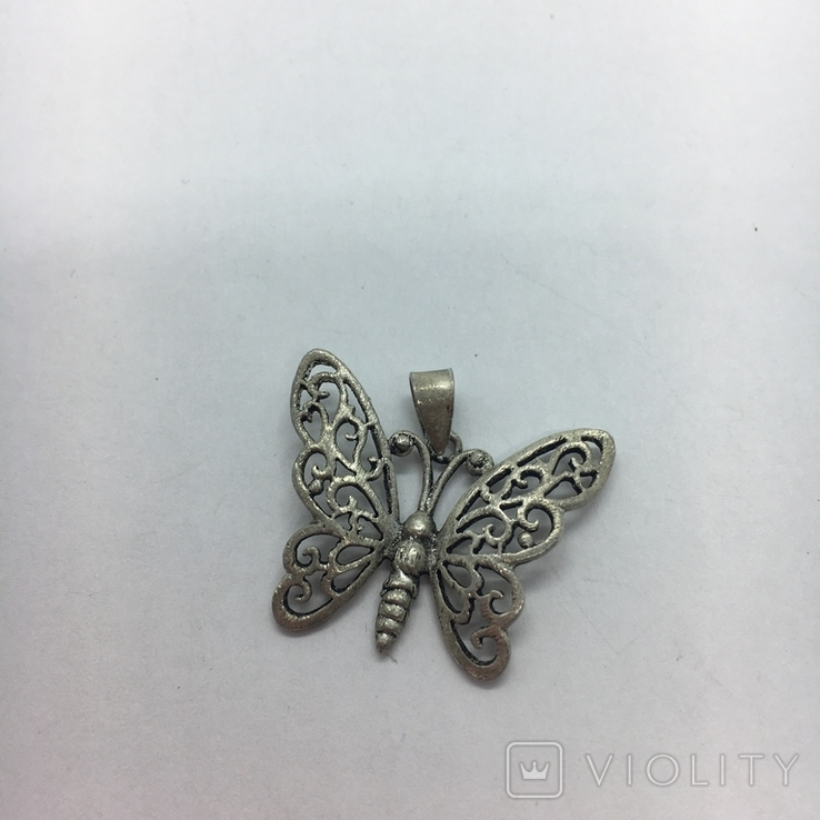 Кулон бабочка, фото №4