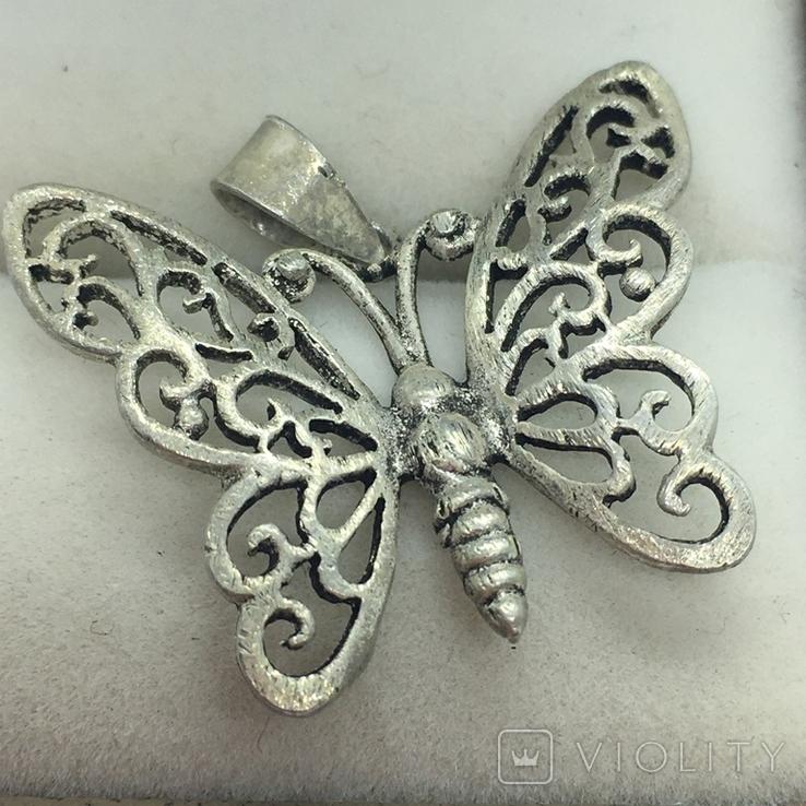 Кулон бабочка, фото №5