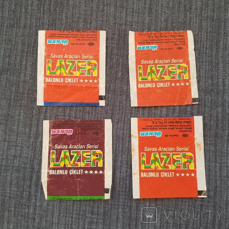 Обертки 4 Lazer, фото №2